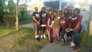 NCCU Wesley volunteers for DurhamCares 1st Annual Bull City Basketball Tournament